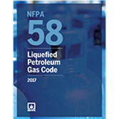 2017 NFPA 58 Code - Current Edition