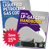 NFPA 58: Liquefied Petroleum Gas Code and Handbook Set