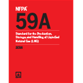 NFPA 59A: Standard for the Production, Storage, and Handling of Liquefied Natural Gas (LNG)