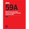 NFPA 59A: Standard for the Production, Storage, and Handling of Liquefied Natural Gas (LNG), 2016 Edition