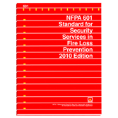 NFPA 601: Standard for Security Services in Fire Loss Prevention, Prior Years