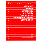 NFPA 610: Guide for Emergency and Safety Operations at Motorsports Venues, Prior Years