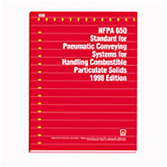 NFPA 650: Standard for Pneumatic Conveying Systems for Handling Combustible Particulate Solids