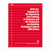 NFPA 651: Standard for the Machining and Finishing of Aluminum and the Production and Handling Aluminum Products, 1998 Edition