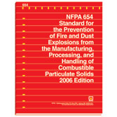 NFPA 654: Standard for the Prevention of Fire and Dust Explosions from the Manufacturing, Processing, and Handling of Combustible Particulate Solids, Prior Years