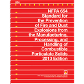 NFPA 654: Standard for the Prevention of Fire and Dust Explosions from the Manufacturing, Processing