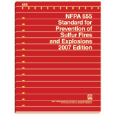 NFPA 655: Standard for Prevention of Sulfur Fires and Explosions, Prior Years