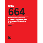 2017 NFPA 664 Standard - Current Edition