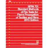 NFPA 701: Standard Methods of Fire Tests for Flame Propagation of Textiles and Films