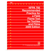 NFPA 705: Recommended Practice for a Field Flame Test for Textiles and Films, Prior Years