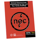 Cool Nfpa 70A National Electrical Code Requirements For One And Two Wiring 101 Capemaxxcnl