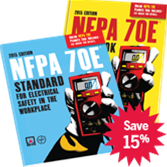 NFPA 70E: Standard for Electrical Safety in the Workplace and Handbook Set, 2015 Edition
