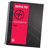 2017 NFPA 70: National Electrical Code (NEC) Spiralbound - Current Edition