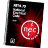 2020 NFPA 70, National Electrical Code (NEC) Spiralbound - Current Edition