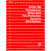 NFPA 750: Standard on Water Mist Fire Protection Systems
