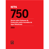 2015 NFPA 750, Spanish