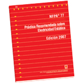 NFPA 77: Recommended Practice on Static Electricity, Spanish