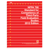 NFPA 790: Standard for Competency of Third-Party Field Evaluation Bodies, Prior Years