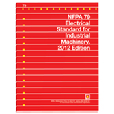 NFPA 79 Electrical Standard for Industrial Machinery 2018 edition