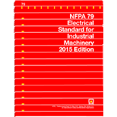 2015 NFPA 79 Standard - Current Edition