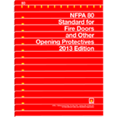 NFPA 80: Standard for Fire Doors and Other Opening Protectives, Prior Years