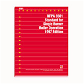 NFPA 8501: Standard for Single Burner Boiler Operation
