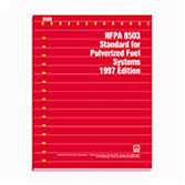 NFPA 8503: Standard for Pulverized Fuel Systems
