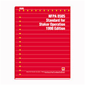 NFPA 8505: Standard for Stoker Operation