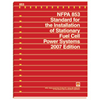 NFPA 853: Standard for the Installation of Stationary Fuel Cell Power Systems, Prior Years