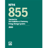 NFPA 855, Standard for the Installation of Stationary Energy Storage Systems