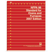 NFPA 86: Standard for Ovens and Furnaces, Prior Years