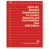 NFPA 901: Standard Classifications for Incident Reporting and Fire Protection Data, Prior Years