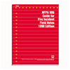 NFPA 906: Guide for Fire Incident Field Notes, 1998 Edition