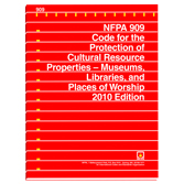 NFPA 909: Code for the Protection of Cultural Resource Properties - Museums, Libraries, and Places of Worship, Prior Years