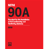 2018 NFPA 90A Standard - Current Edition