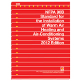 NFPA 90B: Standard for the Installation of Warm Air Heating and Air-Conditioning Systems, Prior Years
