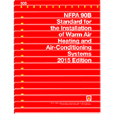 NFPA 90B: Standard for the Installation of Warm Air Heating and Air-Conditioning Systems