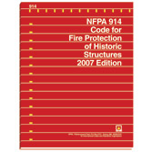 NFPA 914: Code for Fire Protection of Historic Structures, Prior Years