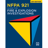 NFPA 921: Guide for Fire and Explosion Investigations, Prior Years