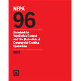2017 NFPA 96: Standard - Current Edition