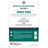 NFPA 101, Life Safety Code Self-Adhesive Tabs (2021 Current Edition)