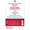 NFPA 13, Installation of Sprinkler Systems Self-Adhesive Tabs