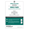 NFPA 1, Fire Code, Self-Adhesive Index Tabs (2021 Current Edition)