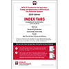 NFPA 25 Self-Adhesive Index Tabs