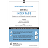 NFPA 54, National Fuel Gas Code Self-Adhesive Index Tabs (2021 Current Edition)