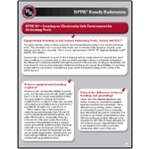 NFPA Ready Reference 2011 NFPA 70®: Creating an Electrically Safe Environment for Swimming Pools