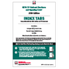 2019 NFPA 72 Self-Adhesive Tabs - Current Edition