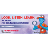 Fire Prevention Week Banner (2018)
