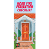 Home Fire Prevention Checklist Brochures