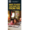 Ways to Keep Your Family Safe from Fire Brochures